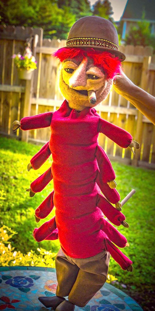 Centiped Puppet