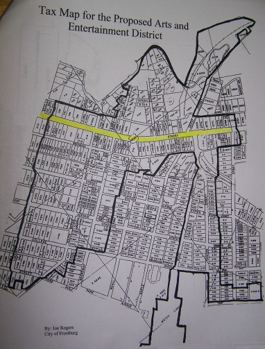 Arts District Map